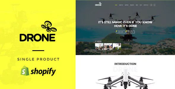 Drone — Single Product Shopify Theme