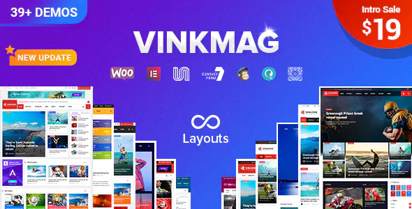 Vinkmag v1.5.2 — Multi-concept Creative Newspaper