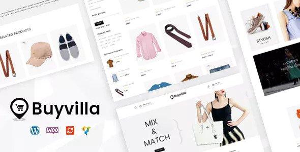 Buyvilla v1.0 — Multipurpose WooCommerce Theme
