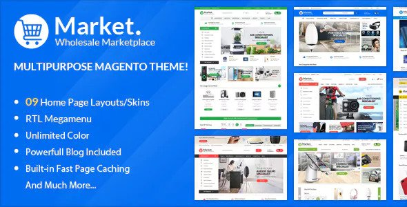 ALO Market — Responsive Magento 2 Theme ( RTL supported )