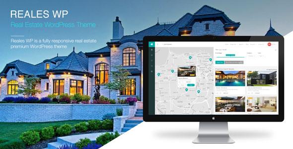 Reales WP v2.1 — Real Estate WordPress Theme