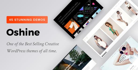 Oshine v6.6.4.2 — Creative Multi-Purpose WordPress Theme