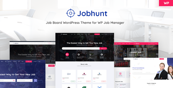 Jobhunt v1.1.8 — Job Board theme for WP Job Manager