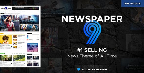 Newspaper v9.6 — WordPress News Theme