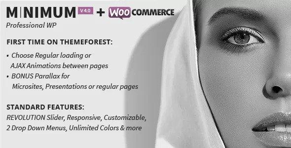 MINIMUM v4.0 — Professional WordPress Theme