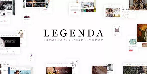 Legenda v3.9.2.1 — Responsive Multi-Purpose WordPress Theme