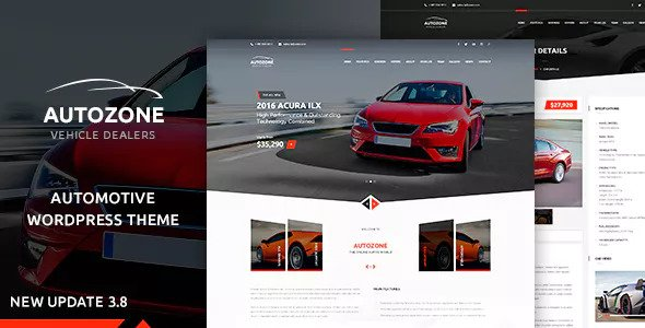 Autozone v3.8.6 — Automotive Car Dealer