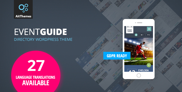 Event Guide v2.53 — Ultimate Directory Listing Theme