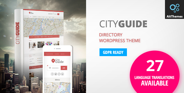 City Guide v3.49 — Listing Directory WordPress Theme