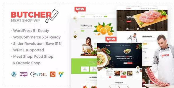 Butcher v2.8 — Meat, Organic Shop Woocommerce Theme