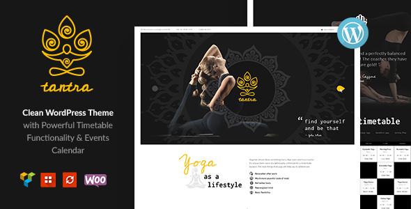Tantra v1.0.2 — A Yoga Studio and Fitness Club Theme