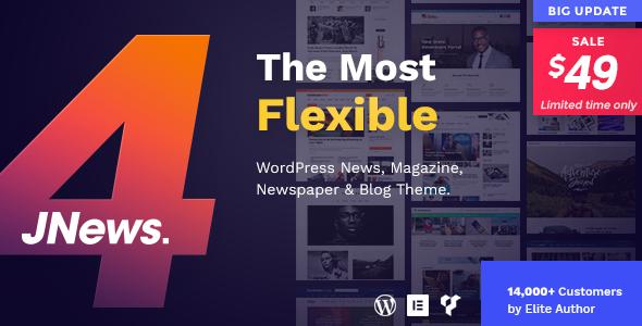 JNews v4.0.2 — WordPress Newspaper Magazine Blog AMP Theme