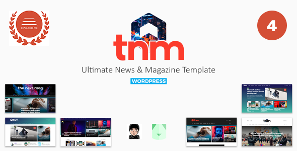 The Next Mag v4.2 — Ultimate Magazine WordPress Theme