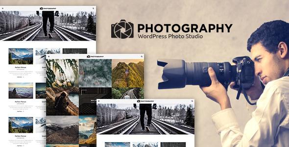 MT Photography v1.2.1 — Eye-catching, Unique Photo Theme