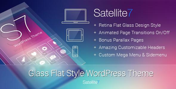 Satellite7 v3.0.2 — Retina Multi-Purpose WordPress Theme