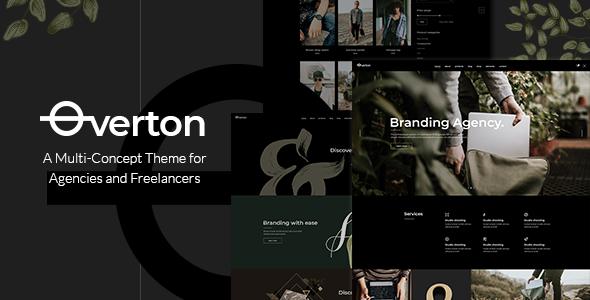 Overton v1.2 — A Creative Multi-Concept Theme