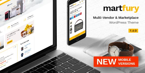 Martfury v1.6.0 — WooCommerce Marketplace Theme