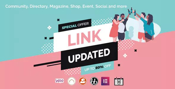 Lynk v2.0.2 — Social Networking and Community Theme