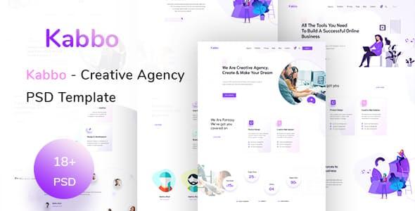 Kabbo v1.0 — Creative Agency PSD Template