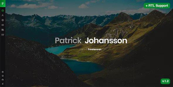 Patrick v1.22 — Personal Portfolio / CV / Resume / vCard Template
