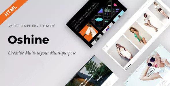 Oshine — Creative Multi-Purpose HTML Template