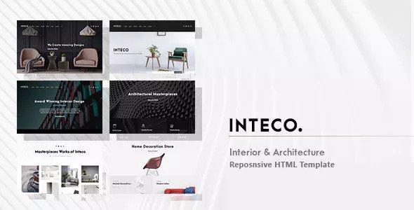 Inteco — Interior & Architecture HTML Template