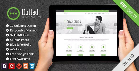 Dotted — Business & Corporate HTML Template