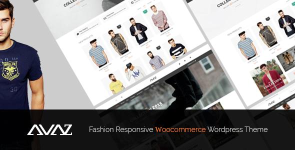 Avaz v2.2 — Fashion Responsive WooCommerce Theme