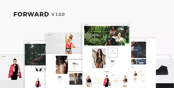 Forward v1.0 — Fashion Responsive Magento Theme