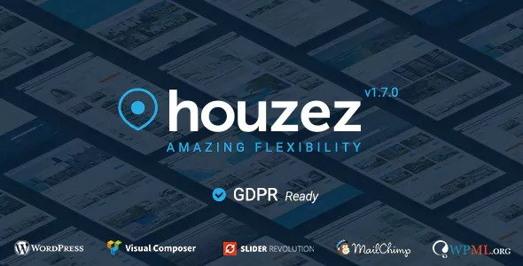 Houzez v1.7.0 — Real Estate WordPress Theme