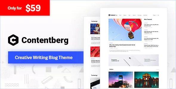 Contentberg Blog v1.5.0 — Content Marketing Blog