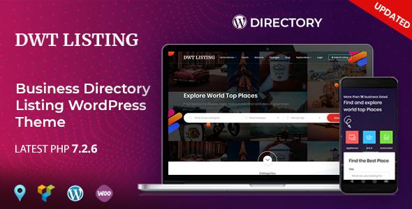 DWT Listing v3.0.4 — Directory & Listing WordPress Theme
