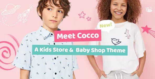 Cocco v1.1.1 — Kids Store and Baby Shop Theme