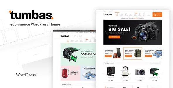 Tumbas v1.6 — Responsive Woocommerce WordPress Theme