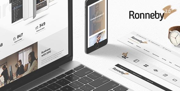 Ronneby v2.4.8 — High-Performance WordPress Theme