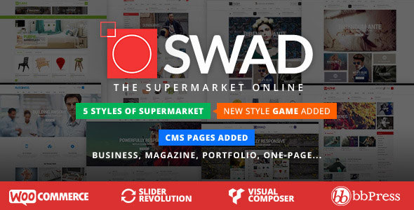 Oswad v2.2.0 — Responsive Supermarket Online Theme
