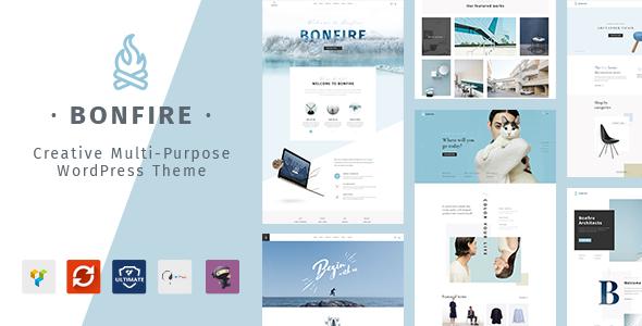 Bonfire v1.6.0 — Creative Multipurpose WordPress Theme