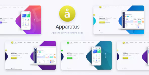 Apparatus v1.3 — A Multi-Purpose One-Page Landing Theme