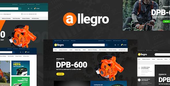 Pav Allegro — Advanced Opencart Theme
