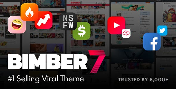 Bimber v7.0.1 — Viral Magazine WordPress Theme
