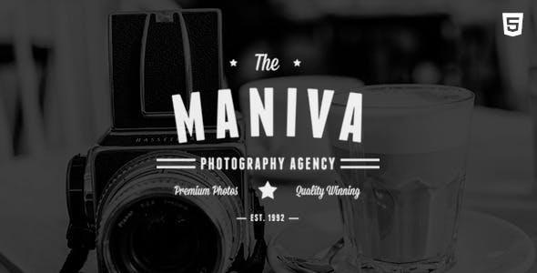 Maniva v1.0 — Photography Agency HTML Template