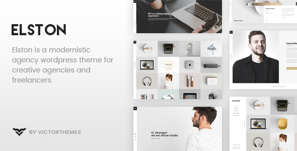 Elston v1.7 — Portfolio for Freelancers & Agencies