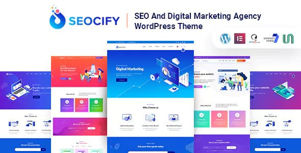 Seocify v1.3 — SEO And Digital Marketing Agency