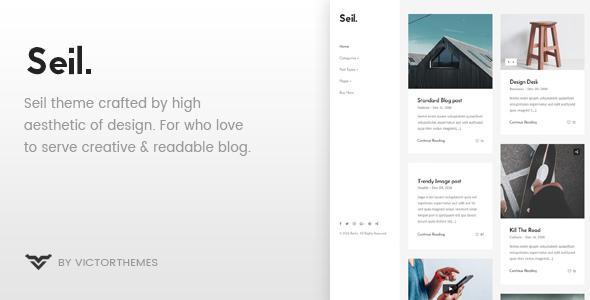Seil v1.4 — A Responsive WordPress Blog Theme