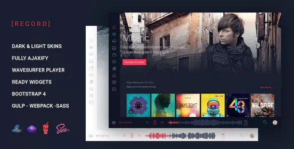 Rekord — Music Event Multipurpose HTML Template