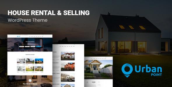 UrbanPoint v1.3.1 — House Selling & Rental Theme