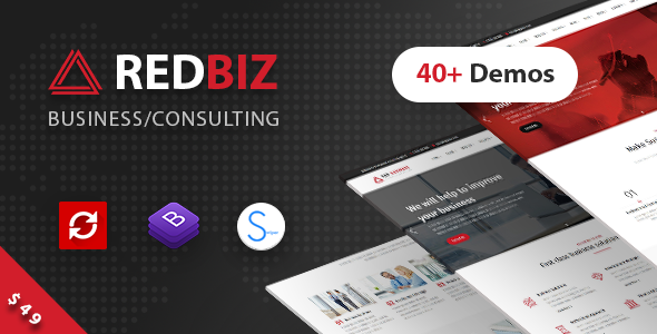 RedBiz v1.1.1 — Finance & Consulting Multi-Purpose Theme