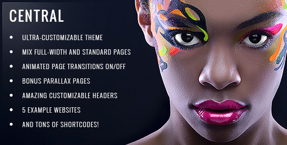 Central v3.0.1 — Versatile Multi-Purpose WordPress Theme