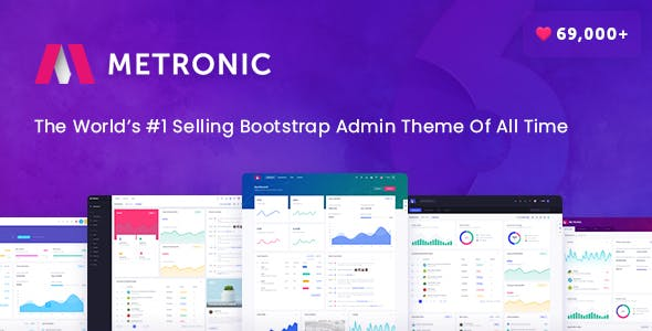 Metronic v6.0 — Responsive Admin Dashboard Template