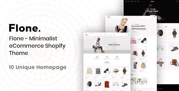 Flone — Minimalist eCommerce Shopify Theme